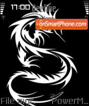 Tribal Dragon es el tema de pantalla