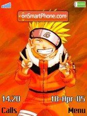 Naruto Smile es el tema de pantalla