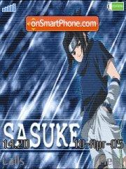 Uchiha Sasuke tema screenshot
