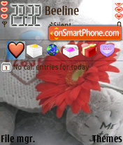 Love Teddy theme screenshot