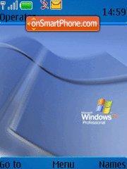 Capture d'écran Windows XP Professional thème