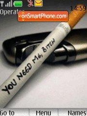 Cigarettes es el tema de pantalla