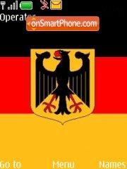 Capture d'écran Flag Germany thème