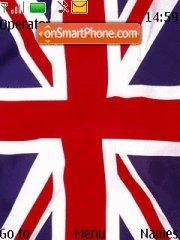 Capture d'écran Flag United Kingdom thème