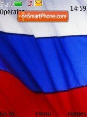 Скриншот темы Flag of Russia