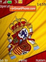 Flag Spain theme screenshot