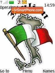 Italy Flag 2 theme screenshot