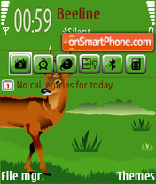 Deer 01 theme screenshot