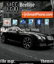 Bentley GT-S theme screenshot