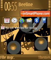 Скриншот темы Coffee v2