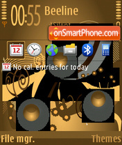 Coffee v2 theme screenshot