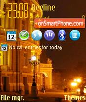 My City 01 theme screenshot