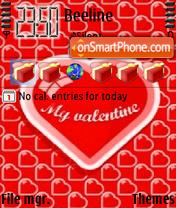 Valentine 03 theme screenshot