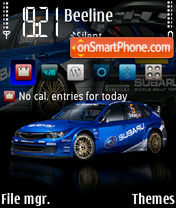Impreza WRC theme screenshot