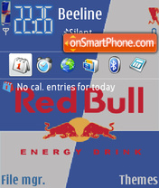 Red Bull 2 theme screenshot