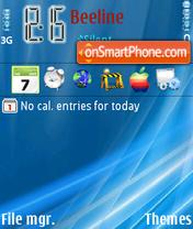 Vista Blue fp2 Theme-Screenshot