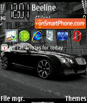 Bentley GT-S 2 theme screenshot