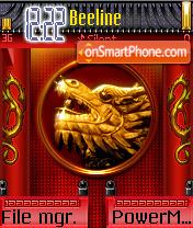 Golden Dragon es el tema de pantalla