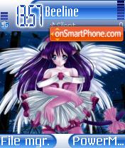 Lady Knight 09 theme screenshot
