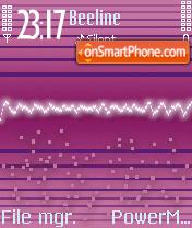 Purple Wave theme screenshot
