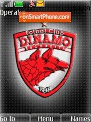FC Dinamo theme screenshot