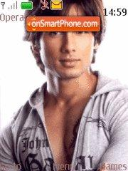 Shahid Kapoor theme screenshot