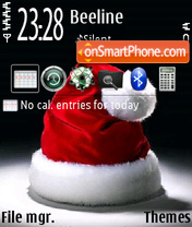 Santa Soon v2 theme screenshot