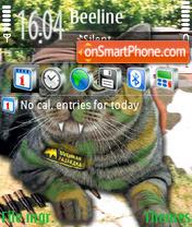 Military Intelligence theme screenshot