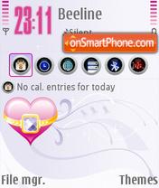 Pink Dim theme screenshot