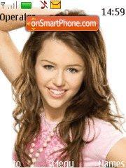 Скриншот темы Miley Cyrus