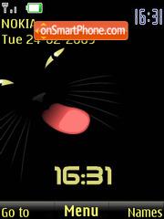 SWF clock lizun es el tema de pantalla