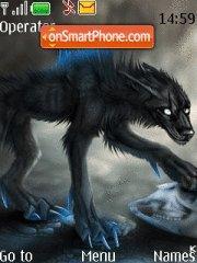 Alone Wolf theme screenshot