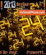 24 Sharp es el tema de pantalla