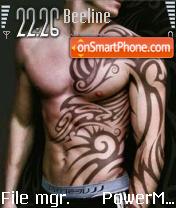 Tattoo Man es el tema de pantalla