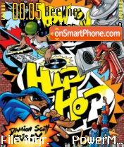 Hip Hop 02 tema screenshot
