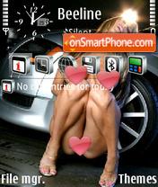 Скриншот темы Sexycarbon