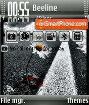 Dark Daisy theme screenshot