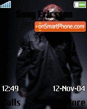 SlipKnoT theme screenshot