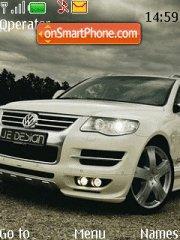 VW Touareg theme screenshot