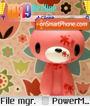Gloomy Bear es el tema de pantalla