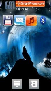 Wolf 11 theme screenshot