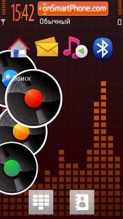 Mix S60v5 theme screenshot