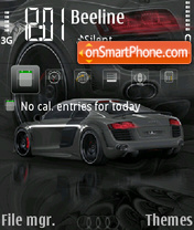 Audi A8 FP2 Theme-Screenshot