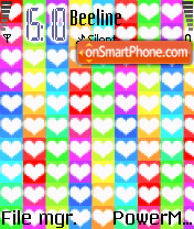 Love and Romanceggg theme screenshot