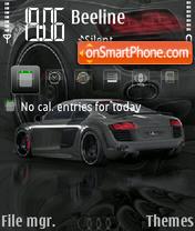 Audi A8 theme screenshot