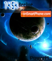 Space tema screenshot