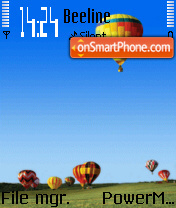 Baloons theme screenshot