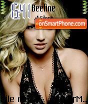 Hollywood Britney theme screenshot