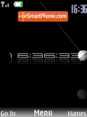 Swf Clock tema screenshot