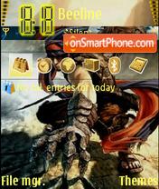 Скриншот темы Prince of Persia 4